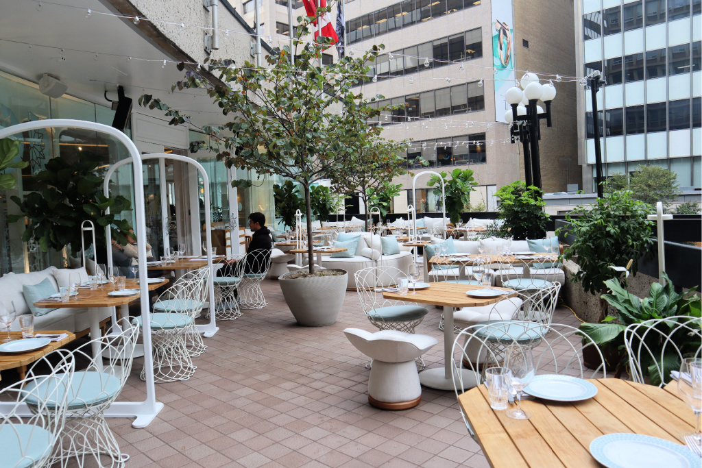 Amal Toronto patio