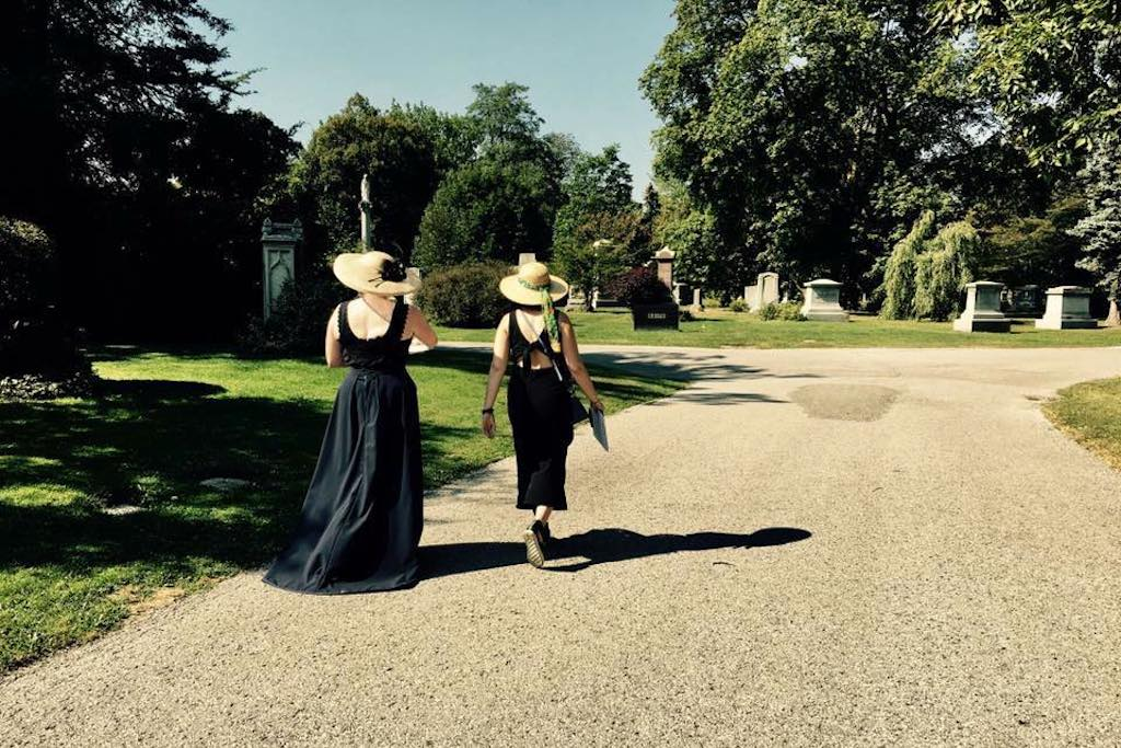 Cemetery Tours for Halloween
