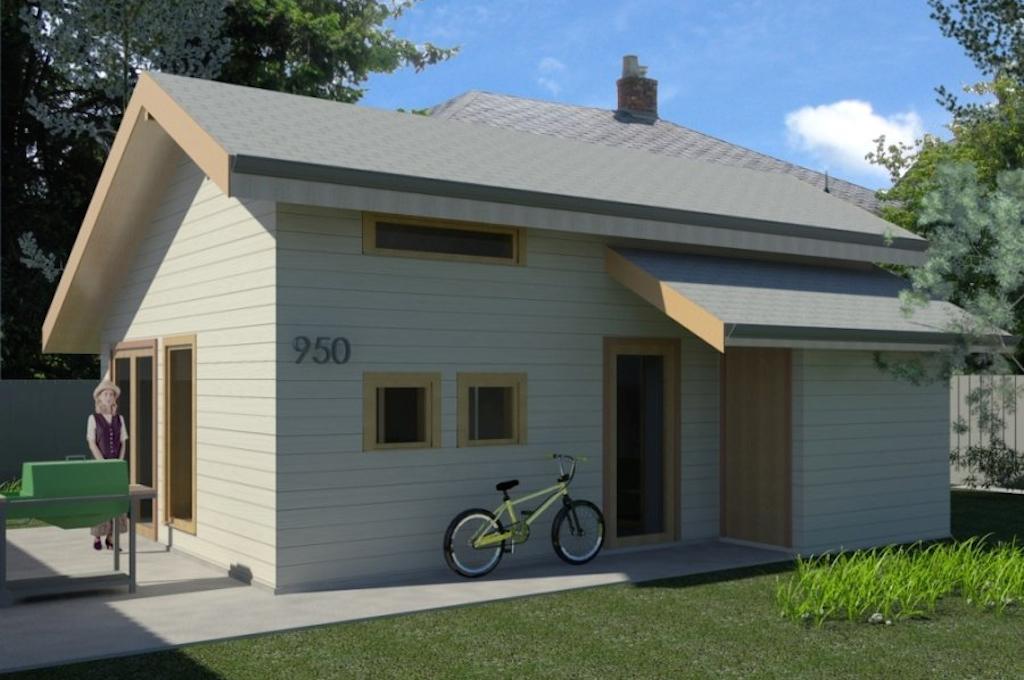 garden suite rendering