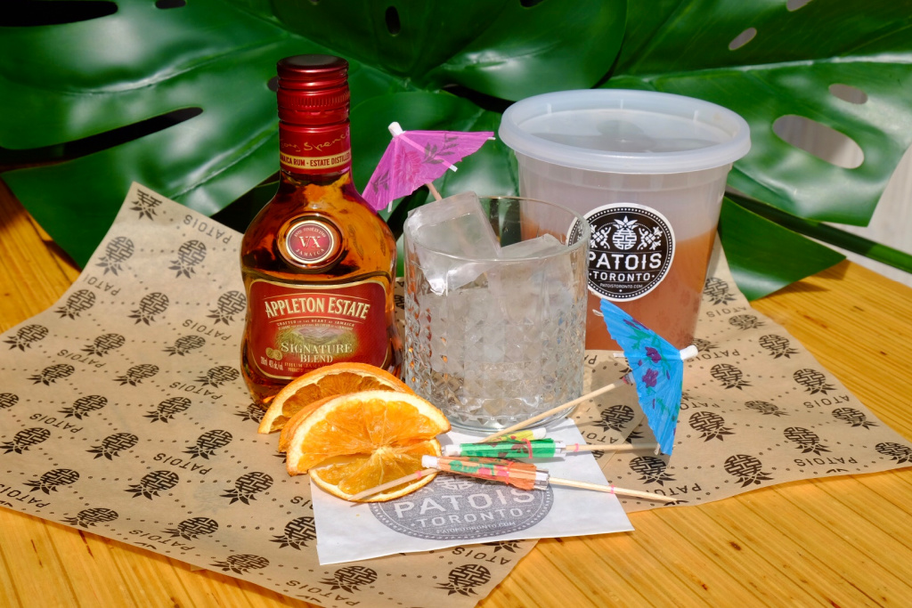 Patois' new years eve cocktail kit