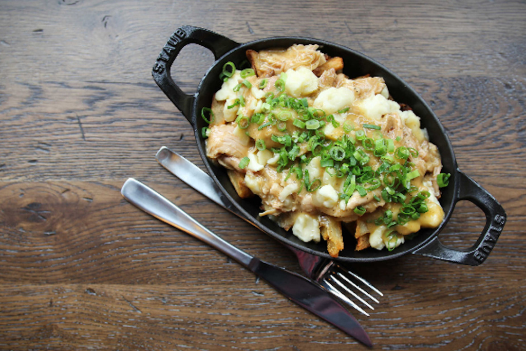 Chicken Pot Pie Poutine from Union Chicken