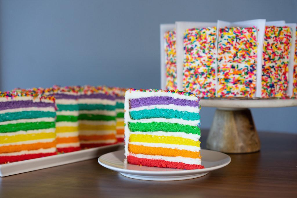 Carlo's Bakery Rainbow Cake