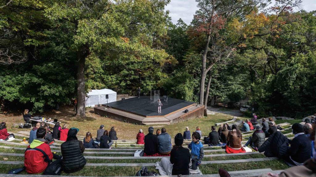 Canadian Stage's High Park Amphitheatre