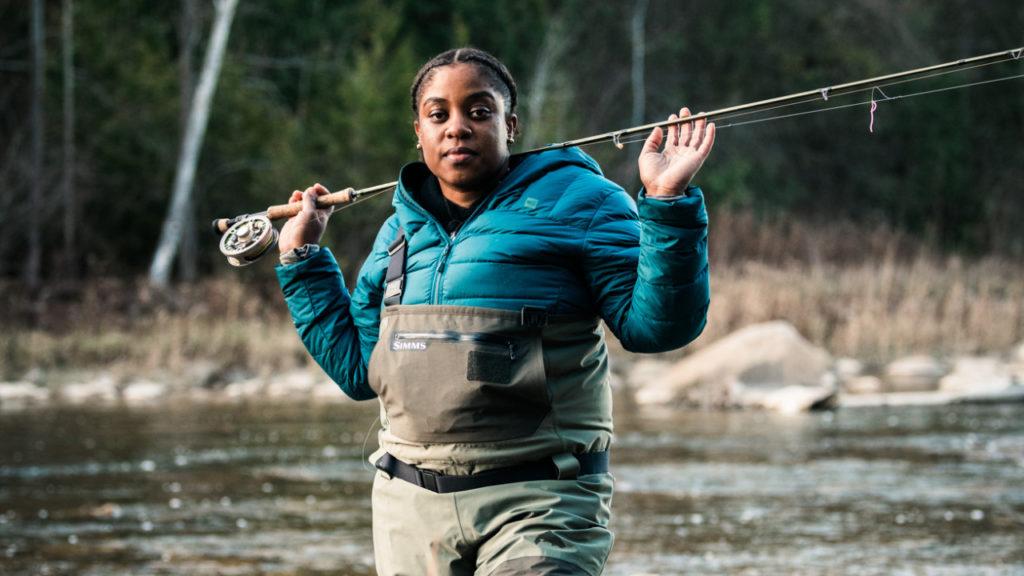 Demiesha Dennis fishing toronto