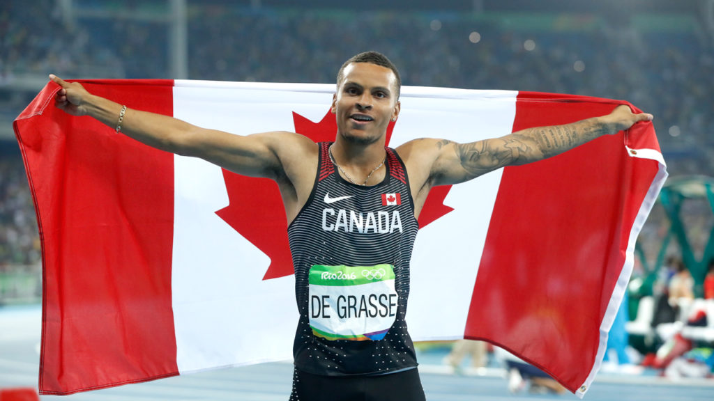 Olympic hopeful Andre De Grasse