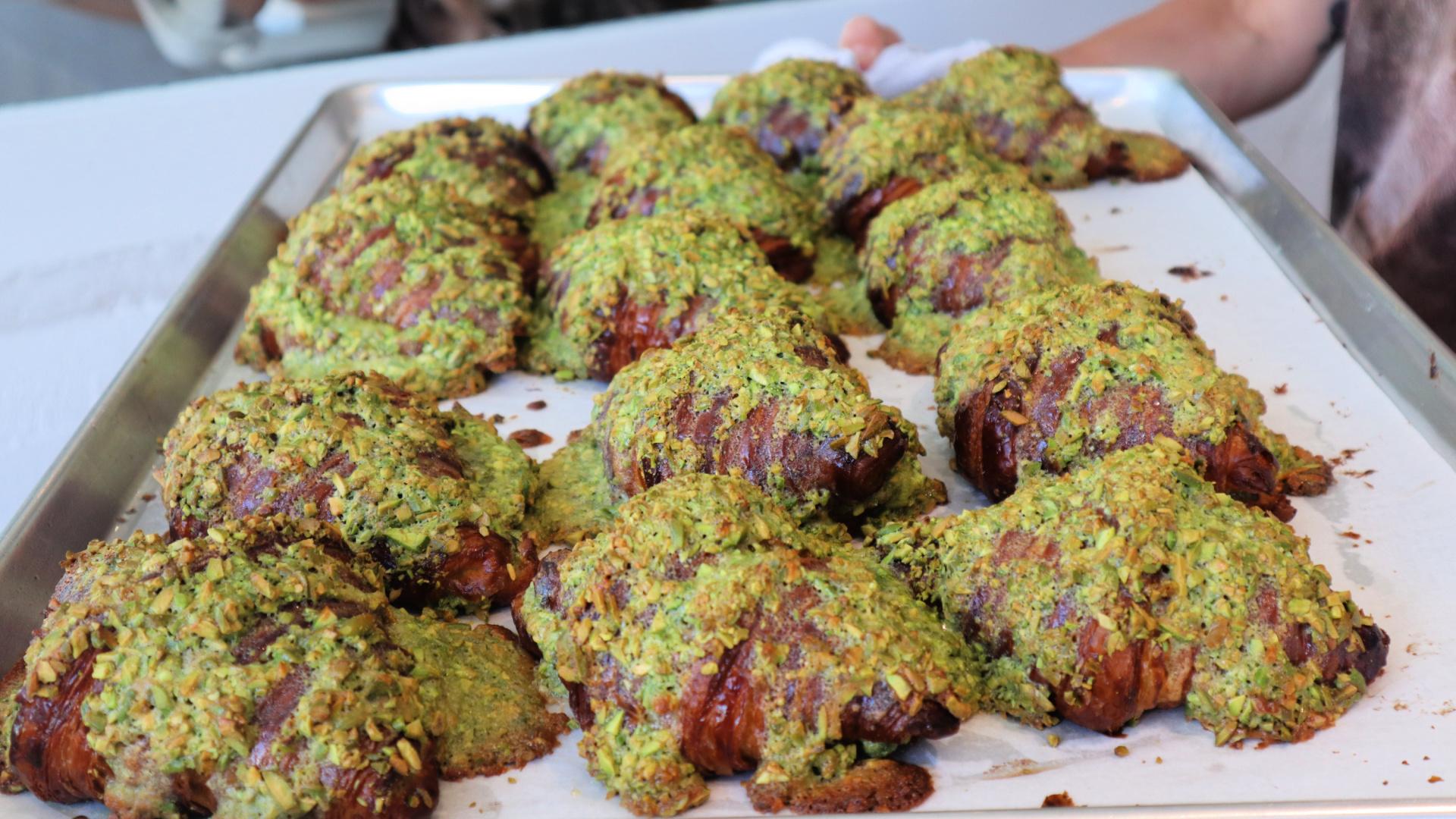 pistachio croissant emmer bakery