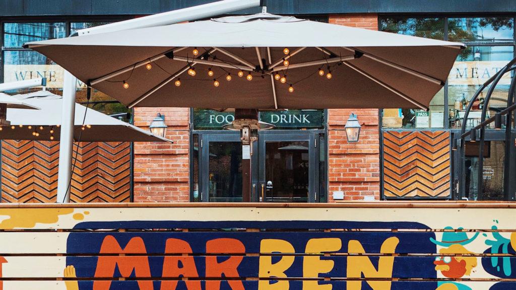 toronto restaurant patios opening this weekend