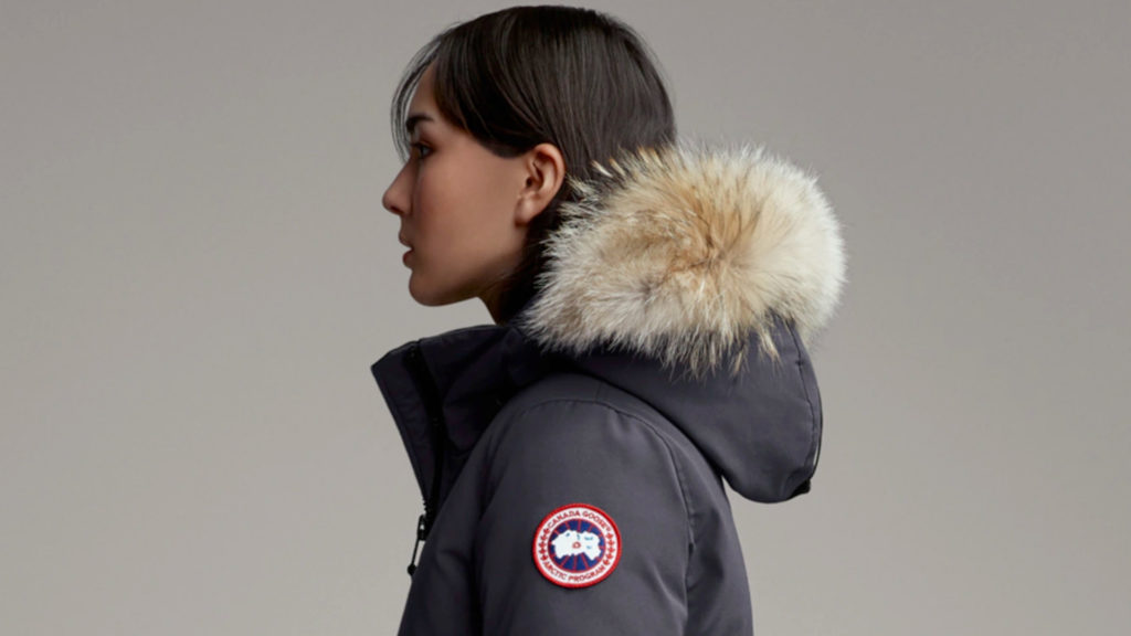A photo of a Canada Goose jacket