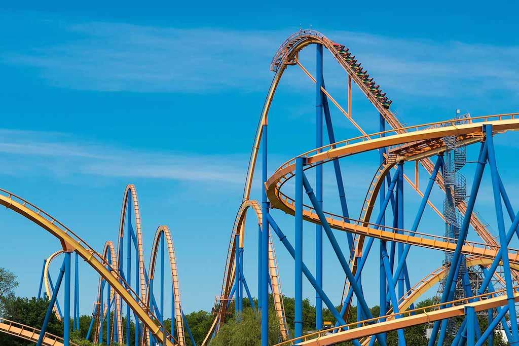 Canada's Wonderland rollercoaster