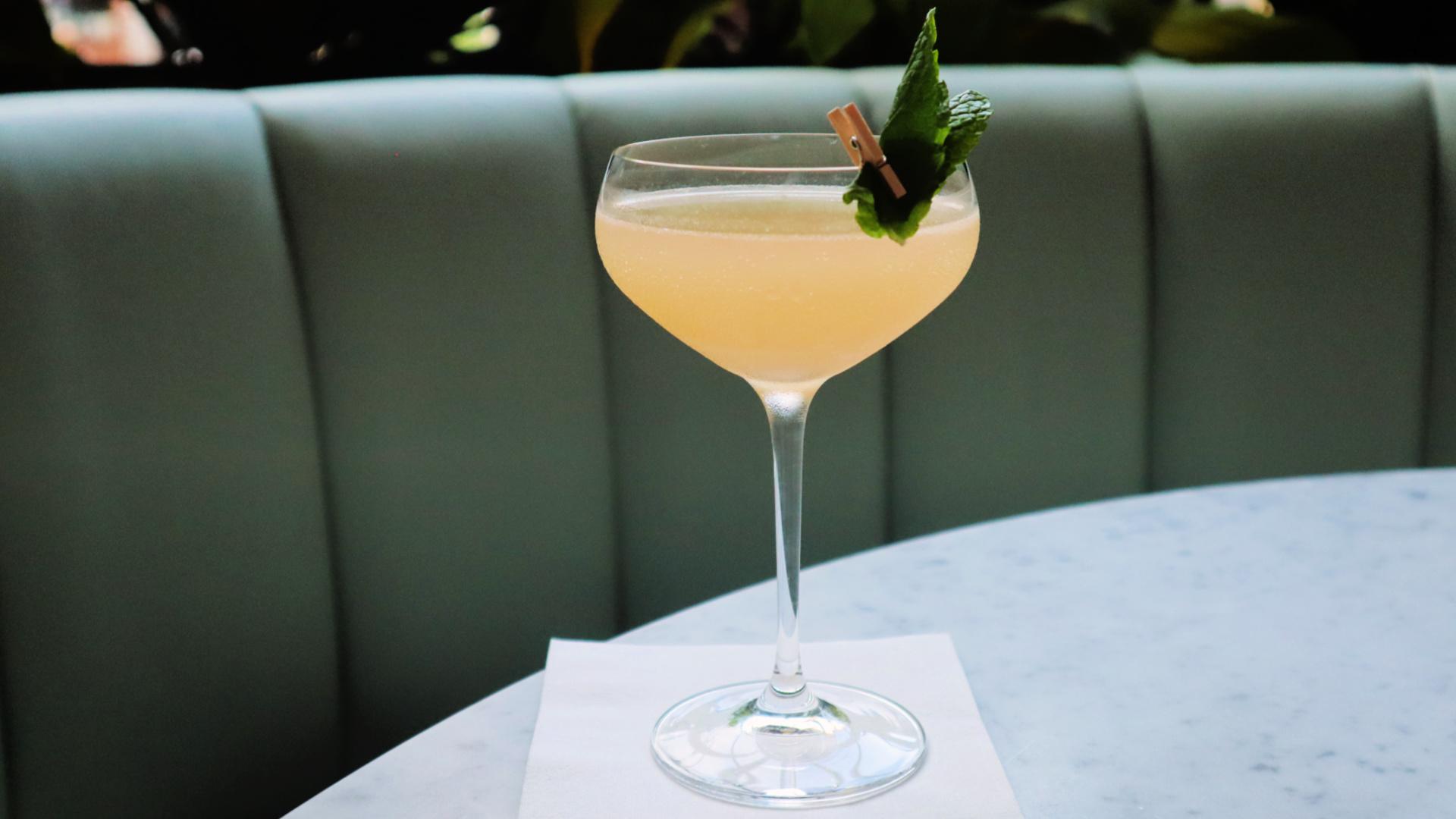 old cuban cocktail vela
