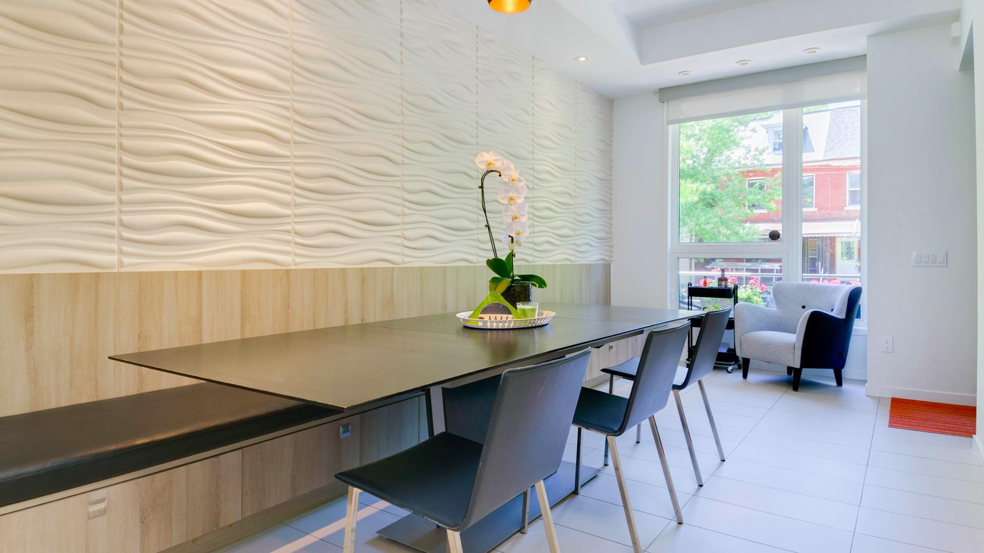 A sneak peek inside a $2.4 million designer town home at Bickford Park