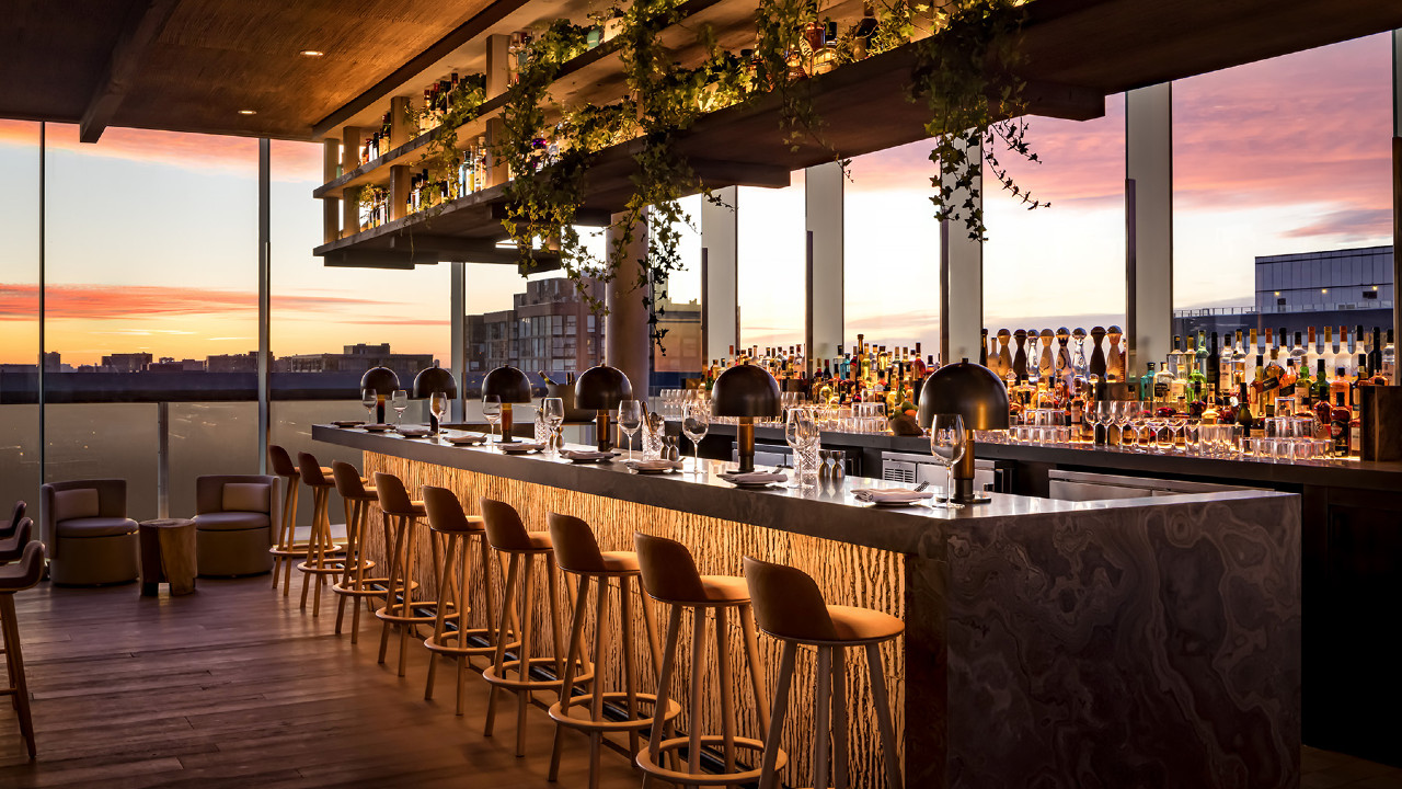 Toronto just got an all-season rooftop patio where the old Thompson Hotel used to be