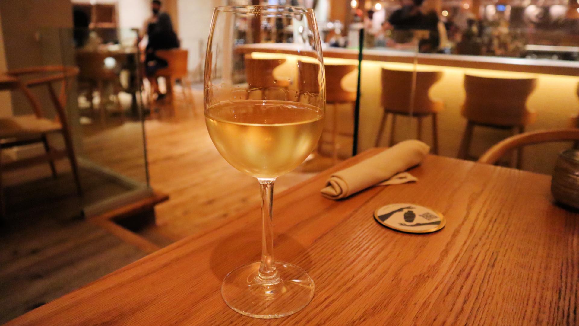 myth restaurant wine