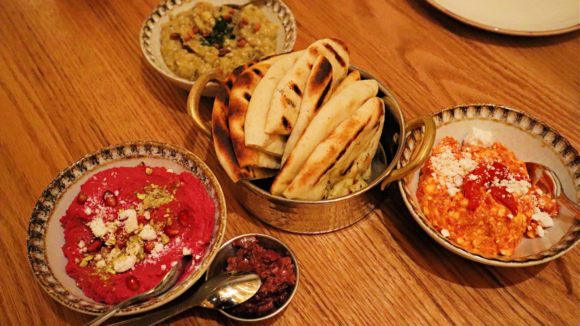 myth restaurant dips