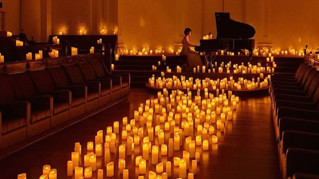 Candlelit concert for Halloween