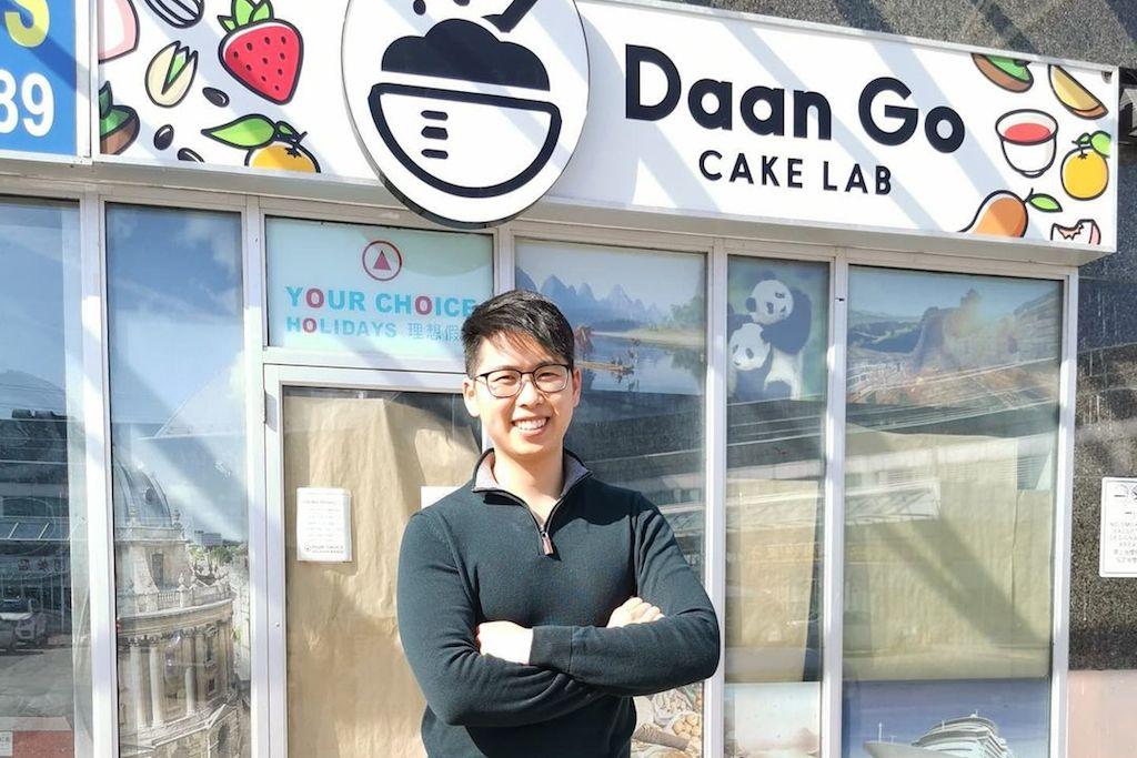 Masterchef winner Christopher Siu at Daan Go